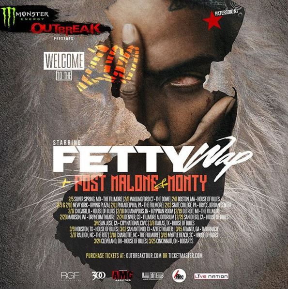 New PopGlitz.com: Fetty Wap Announces 'Welcome To The Zoo Tour' Dates Featuring Post Malone & Monty - http://popglitz.com/fetty-wap-announces-welcome-to-the-zoo-tour-dates-featuring-post-malone-monty/