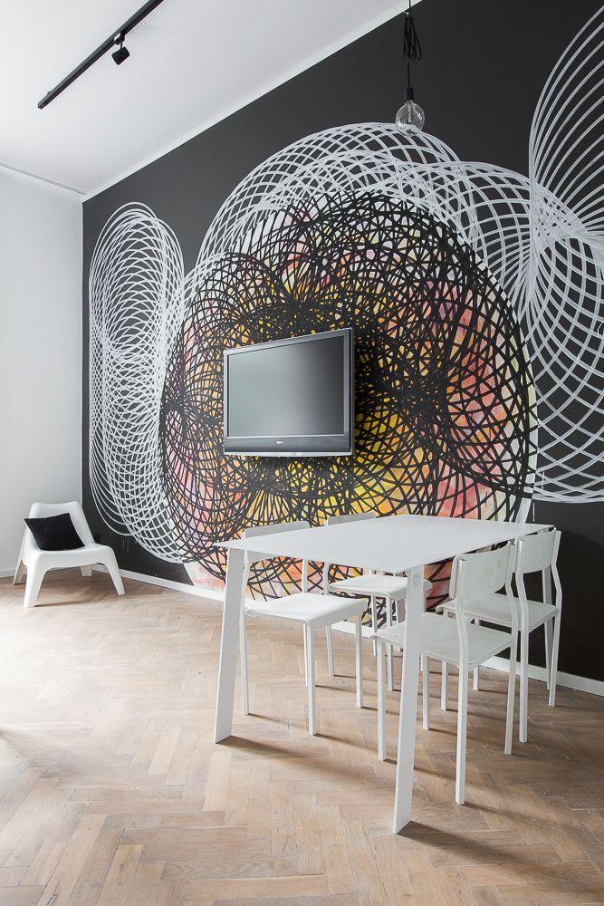 NAGI Dining Table White Simple, minimalistic design, modern interior