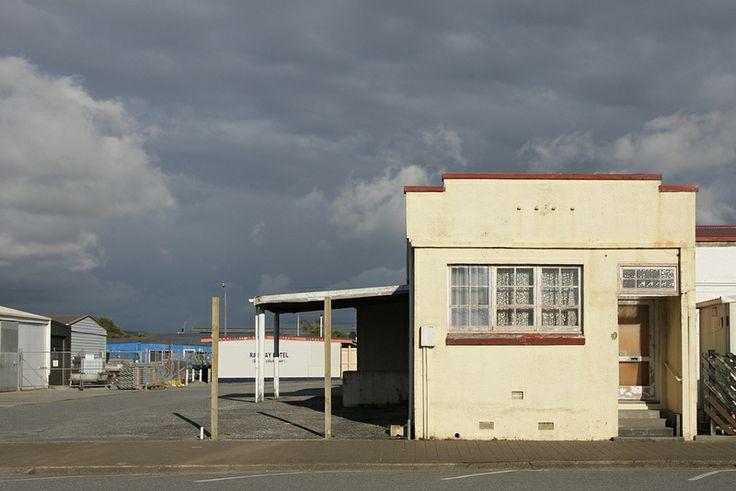 Old shop or depot office, Hokitika, West Coast, New Zealand