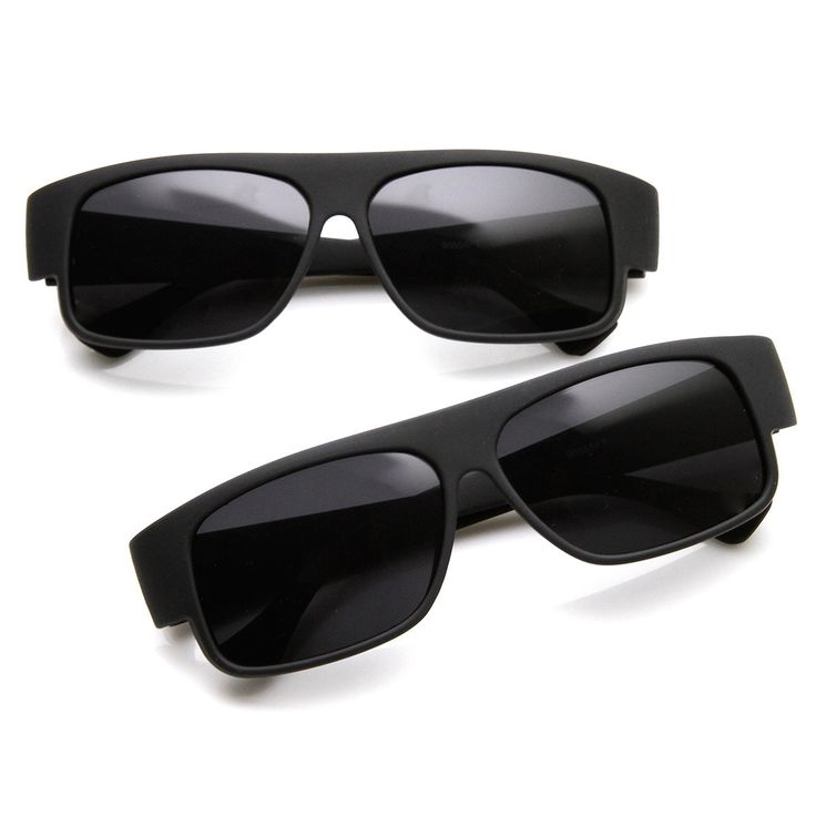 OG Classic Mad Dogger Soft Finish Matte Black Gangsta Loc Sunglasses