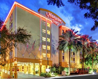 Hampton Inn Miami-Coconut Grove/Coral Gables Hotel, FL - Hotel Exterior
