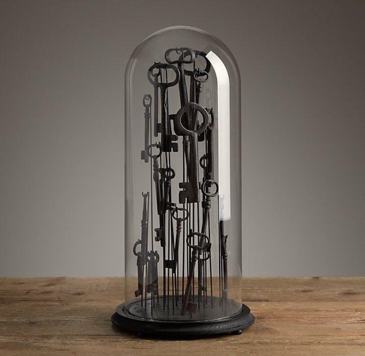 howne blog déco cloche en verre deco unique cabinet vintage retro minimaliste scandinave nordique 5