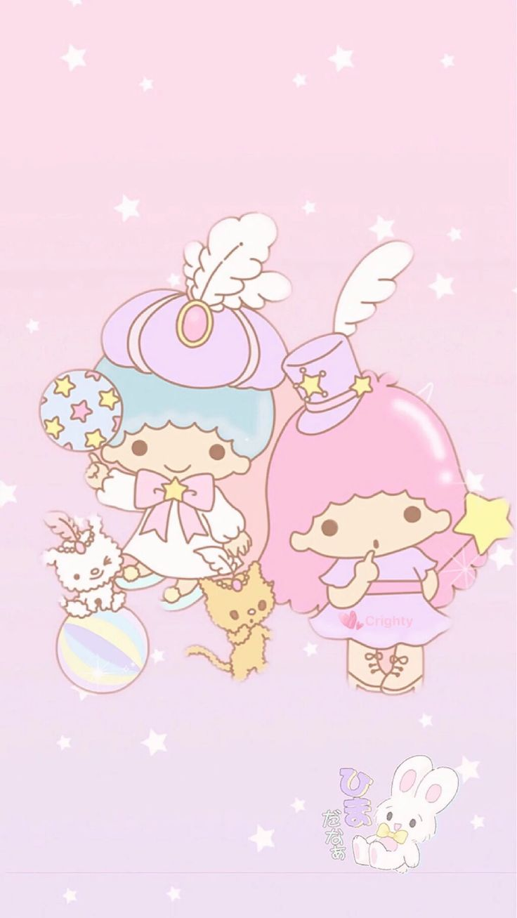 Best Wallpaper Hello Kitty Sakura - 5a2b24092cd7d27700a311db3cc86e83--little-twin-stars-sanrio  HD_419392.jpg