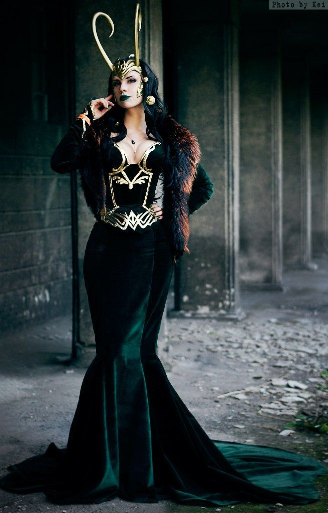 Lady Loki cosplay. /// This is the most perfect thing that ever existing in the realm of perfection.