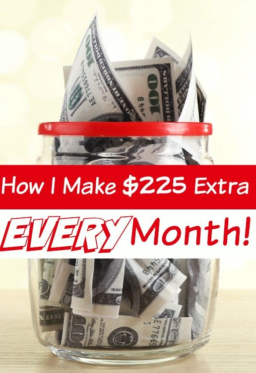 Need to add some extra money to your bank account each month? I add $225 (or more) EVERY. Single. Month! How? Just 6 EASY steps each day and I'm going to show you how you can do it too!