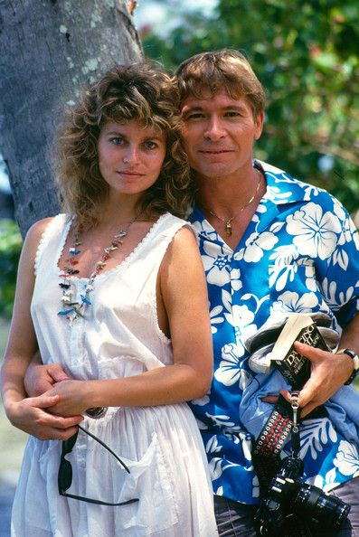 John Denver and Australian actress Cassandra Delaney who he married in 1988, they appeared on the Bob Hope TV special called ' Bob Hopes Tropical Comedy from Tahiti' , also in the show was Jonathan Winters, Howard Keel, Morgan Brittany, Bob Hope, John Denver and Susan Akin.