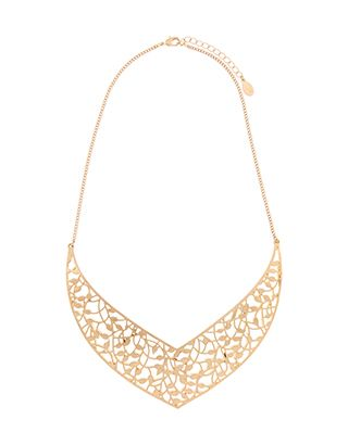 Oriental Cut Out Collar Necklace