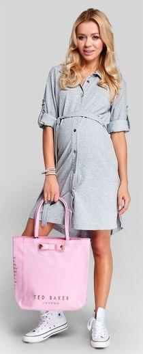 Weekend хлопковое платье свободного кроя для беременных