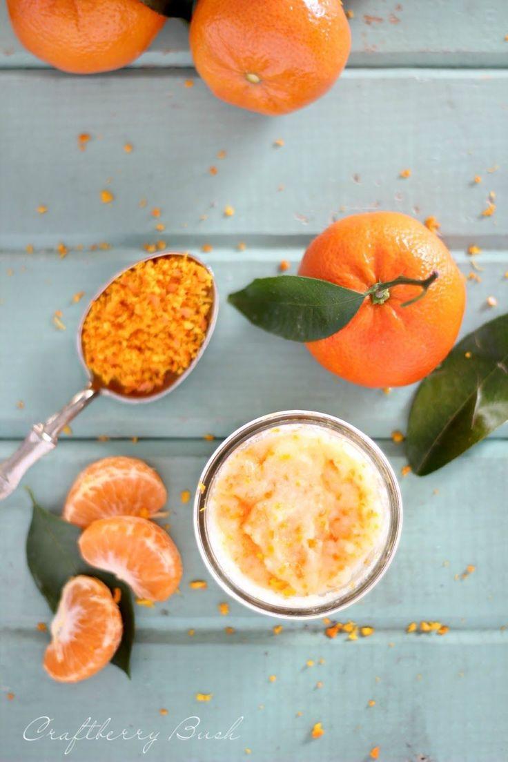Homemade Mandarin Body Scrub Recipe