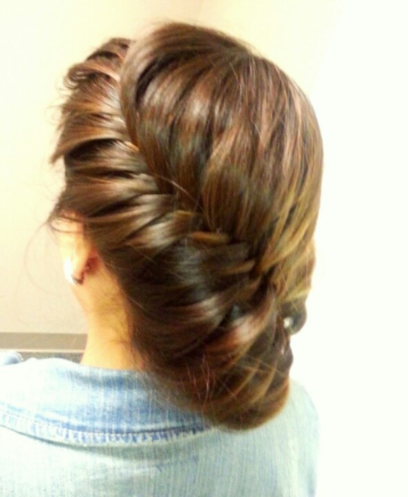 How To Do A Fishtail Crown BraidBraids