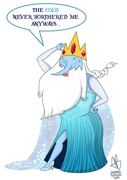 Rey hielo ¡Suéltalo!