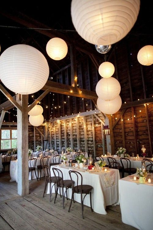 (via My dream wedding / Barn Party Inspiration — keep an eye out for these at world market)