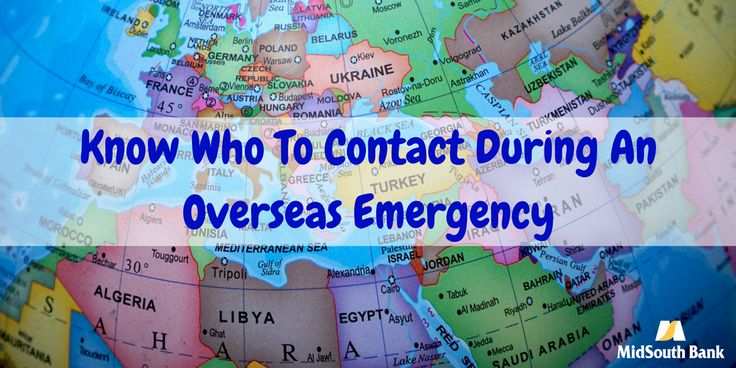 If you are a U.S. citizen abroad, visit the Department of State for help with emergencies like a lost or stolen passport, medical emergencies, victims of crime or arrest, missing persons, parental child abductions, death abroad, or natural disasters.  Before traveling be sure to add them to your contacts as well.