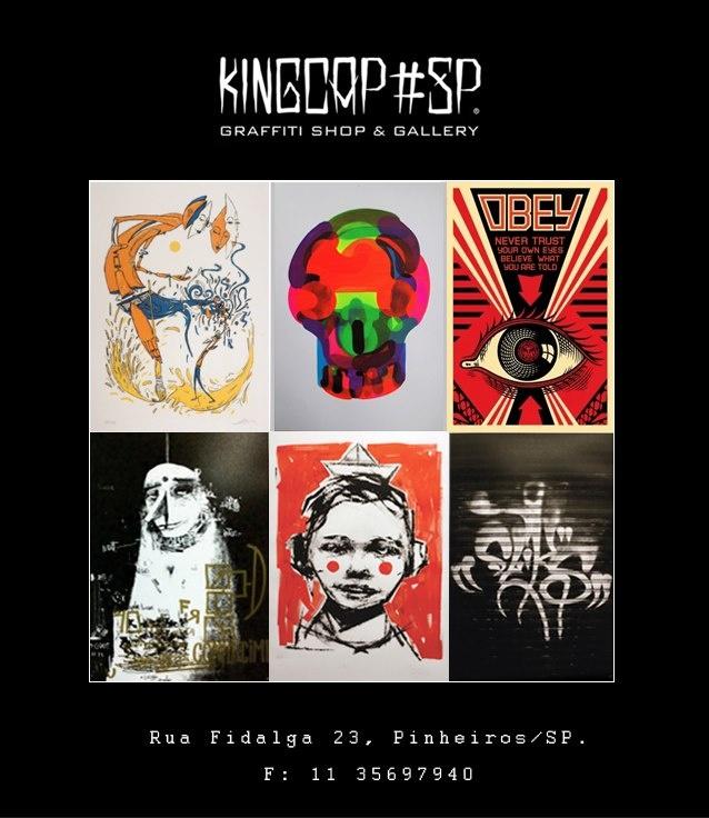 King Cap - Rua Fidalga, 23 - Vila Madalena, São Paulo, BR.