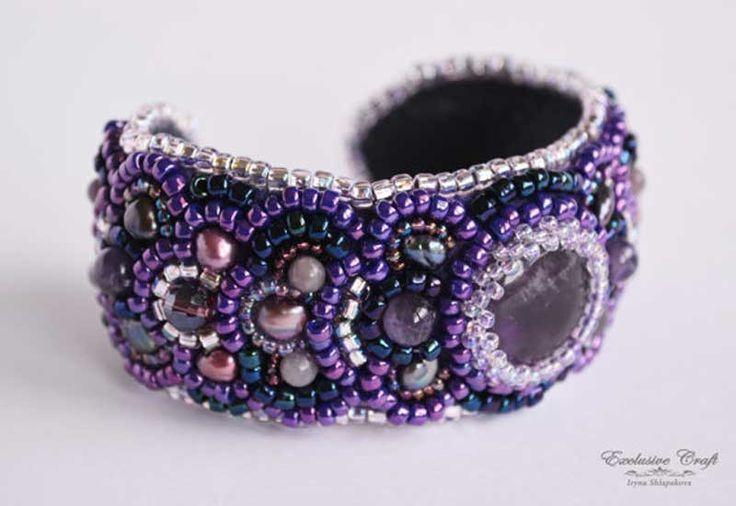 "Bracelet ""Purple Rain"""