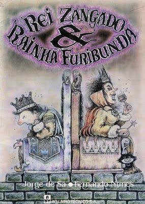 Livros Infantis Antigos: (1988) Rei Zangado & Rain...