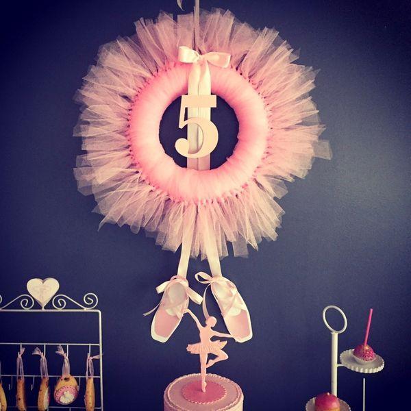 anniversaire danse ballerine ballet