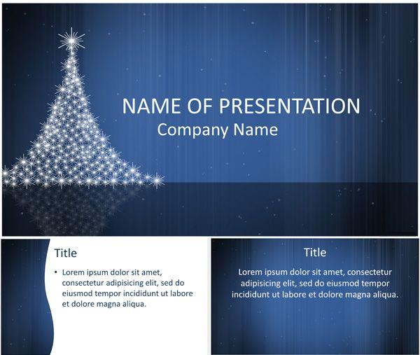 Mer Enn  Bra Ideer Om Christmas Powerpoint Template P