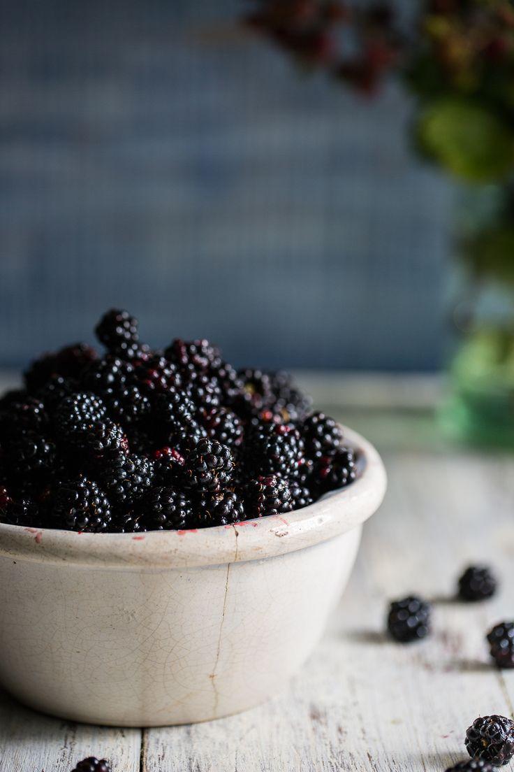Wild Blackberry & Lemon Cake with Blackberry Fool | Cygnet Kitchen