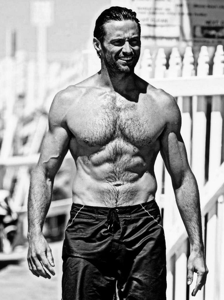 Hugh Jackman Someone who can sing and dance....and look like that!? Works for me.
