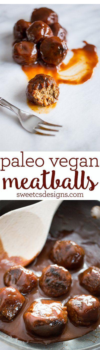 Paleo Vegan Meatballs | Vitamix Recipe  Get Free shipping on any #Vitamix with code 06-006499 https://www.vitamix.com/Shop?COUPON=06-006499