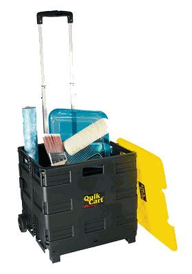 Ultra Compact Quik Cart Great For Horse Supply Storage