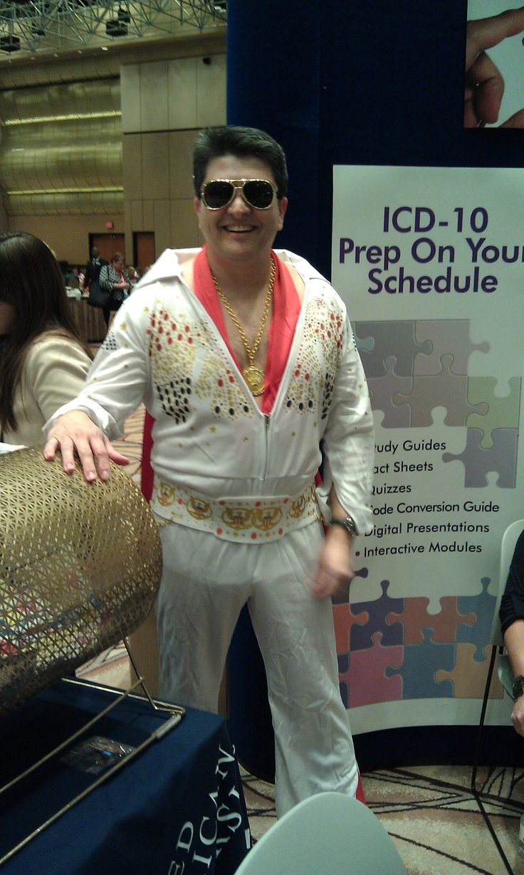 Elvis is interested in ICD 10 too! #ICD10 #aapc #aapccon #coding