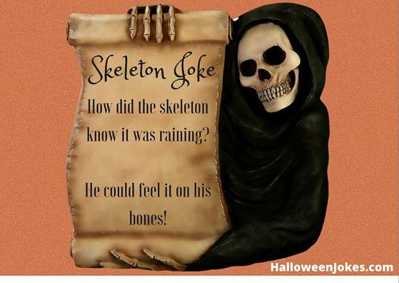 Skeleton Joke 2 - Halloween Humor