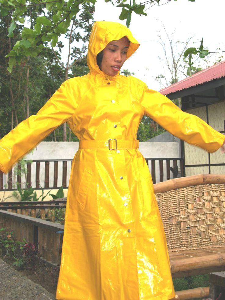 A yellow rukka mac to brighten up a rainy day !