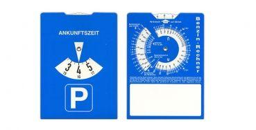 Xtra Werbung - Karton-Parkscheibe