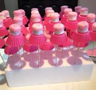 Marshmallow Ballerina's