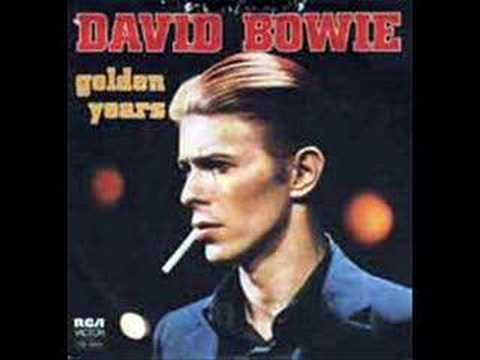 "David Bowie, ""Golden Years."" I love Bowie in general, but this one always makes me want to dance (badly)."