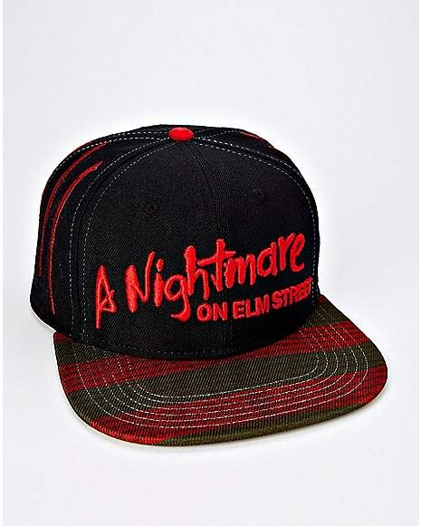 a87ae27a4fe A Nightmare On Elm Street Snapback Hat