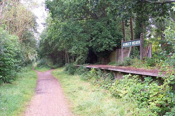 Castleman Trailway West Moors To Avon Valley Section A