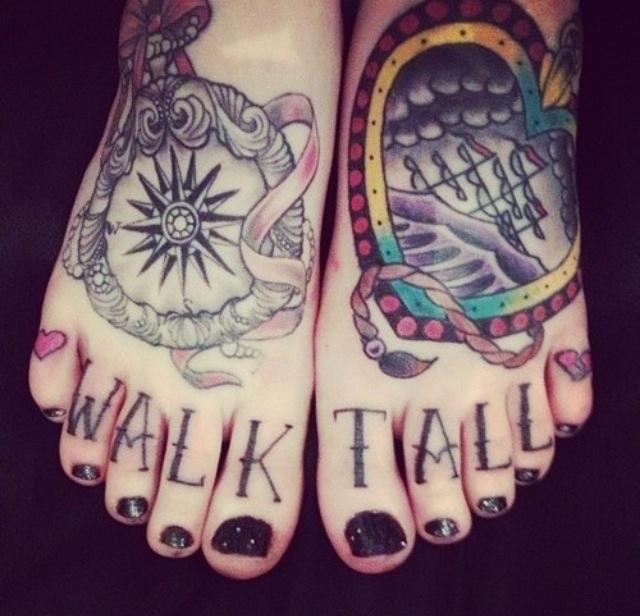 walk tall.