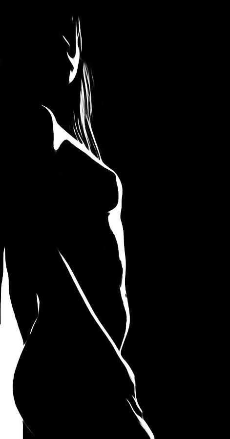 Black and white wallpaper nude women hd