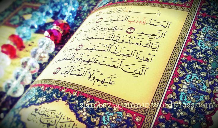 Nie od dziś wiadomo, iż wśród nie-muzułmaów rozpowszechniane są pseudo-prawdy o islamie, na które dowodem mają być wyrwane z kontekstu wersety Koranu lub ich fragmenty, bądź czasem wręcz wariacje n...