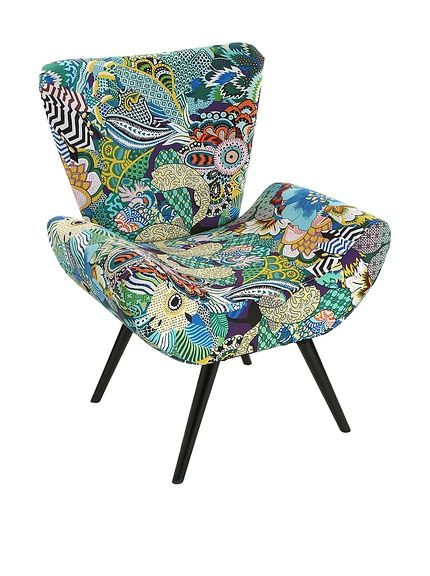 Mimma Sessel Tropical Patchwork bei Amazon BuyVIP