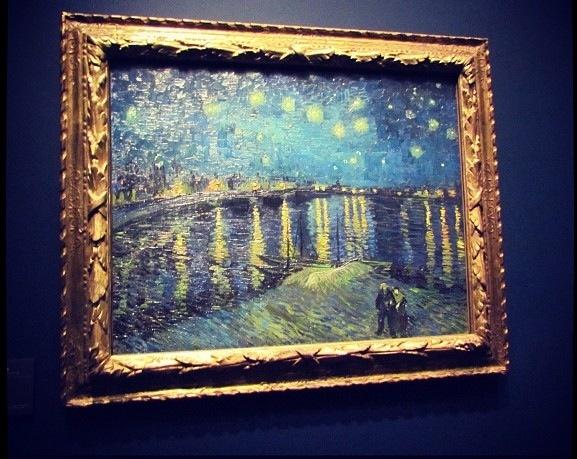 Artwork Explained 2 Starry Night Over The Rhône