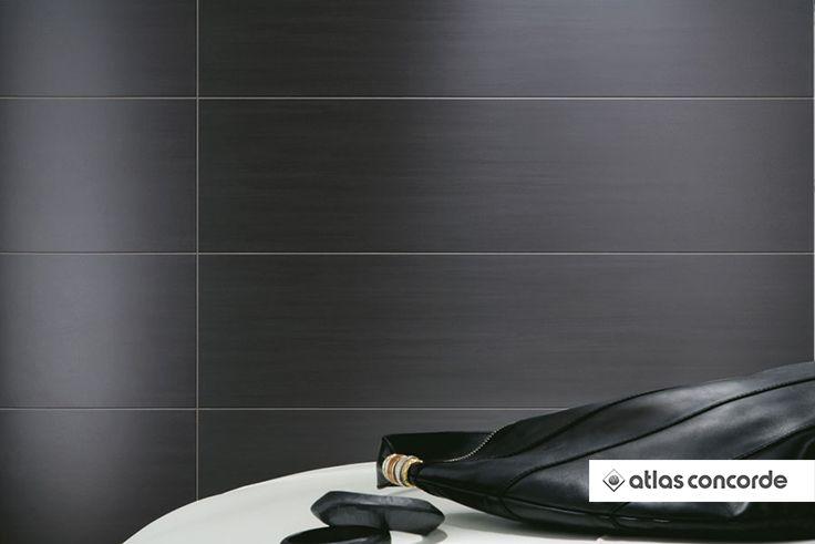#SUBLIME Ebony | #AtlasConcorde | #Tiles | #Ceramic