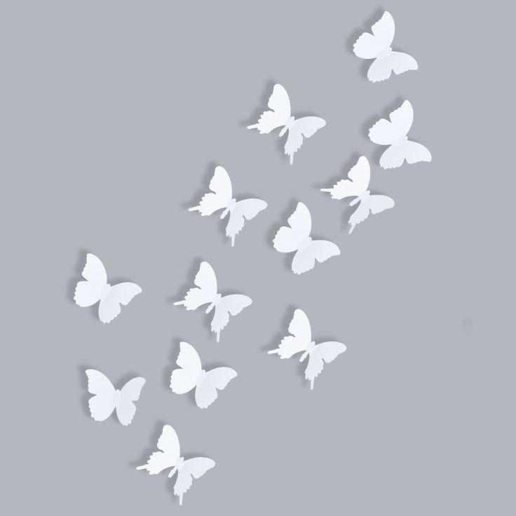 Simple Schmetterling Wanddeko auf Schneider de