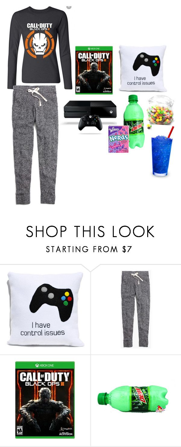 """""""Call of duty black ops 3 night! # I will beat you Mari!"""" by ashlyne8 ❤ liked on Polyvore featuring Madewell, Dot & Bo, women's clothing, women, female, woman, misses and juniors"""