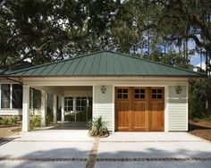 Detached garage ideas garages pinterest detached for Detached garage pool house