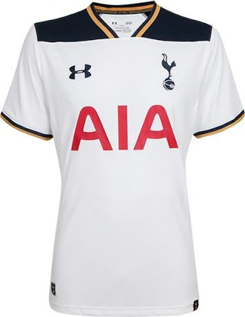 The new Tottenham 2016-17 Home Kit introduces a classy design for the Spurs.