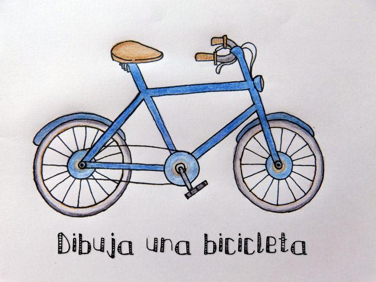 Dibujos En 3d Para Niños Web Del: Cómo Dibujar Una Bicicleta [Dibujo Fácil Para Niños ☺] En