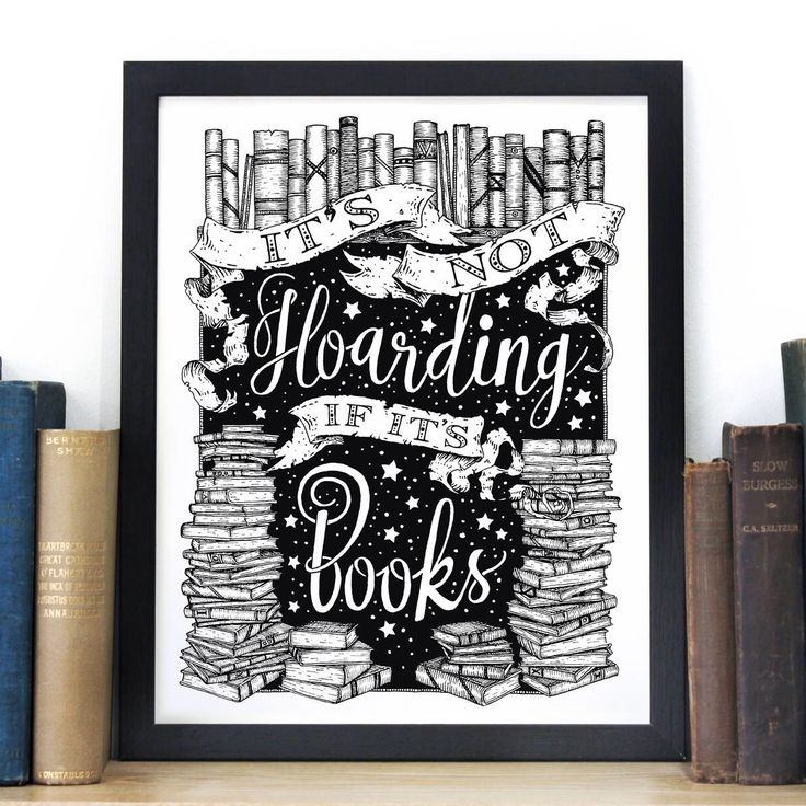 Excited to share the latest addition to my #etsy shop: Book Lovers Quote Print - Typography Screen Print - Literary Gift Print - Black and White Art - Illustration by Chatty Nora - Reading Magic #art #printmaking #screenprint #housewarming #white #bookloversprint #quoteprint #quotescreenprint #typographyprint