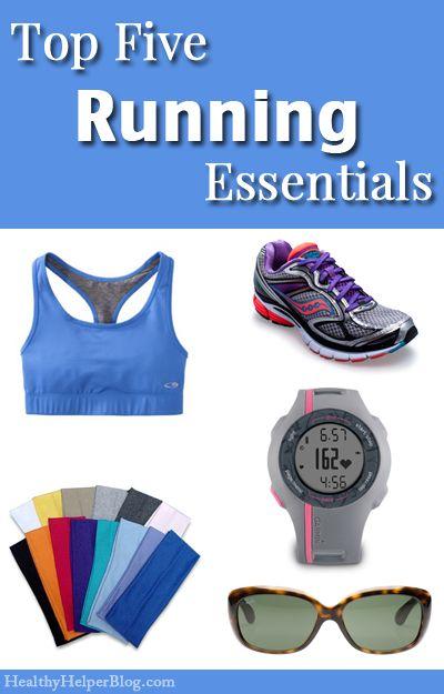 Top Five Running Essentials • Healthy Helper [running, fitness, running gear, fitness gear, fitfluential, sweatpink, healthy living, exercise, runner, run, must-haves]