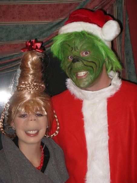 Diy Grinch And Cindy Lou Who So Cute Christmas Classycloud Co