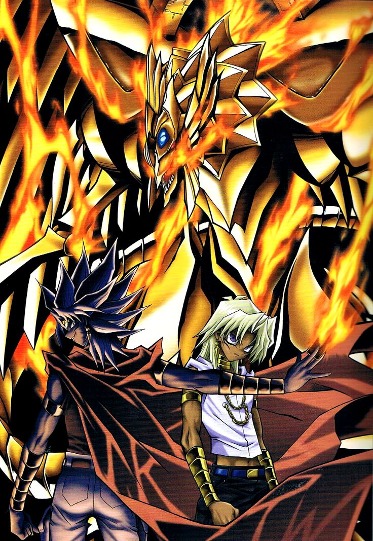 YuGiOh! Duel Monsters Malik and Ra The Sun of God