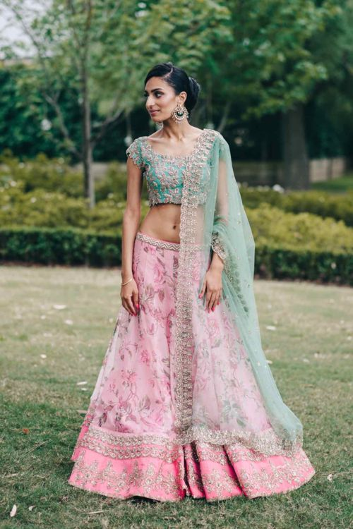 Inderpreet + Simran: A Vintage Fairytale Engagement in Melbourne - engagement phoot shoot - exquisite engagement - Indian wedding inspiration - Anushree Reddy lehenga - Amrapali jewels earrings - Sikh wedding #thecrimsonbride